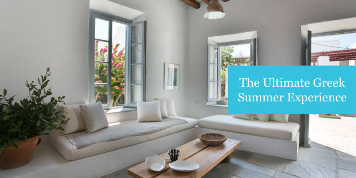Short Term Rentals, furnished houses in the Greek Islands